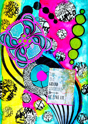 June 2015 - Art Journaling - Mary C. Nasser