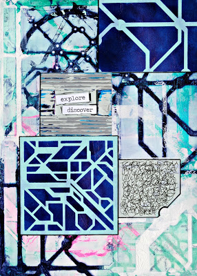 Aug2016 StencilClub - Art Journal 1 - Mary Nasser