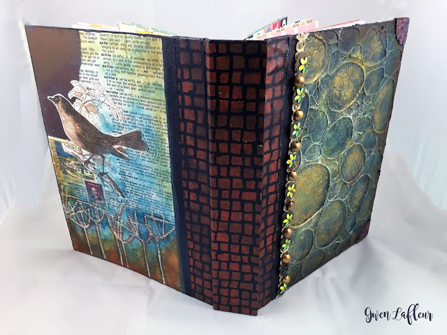 May2016 StencilClub - Handmade Book Open - Gwen Lafleur