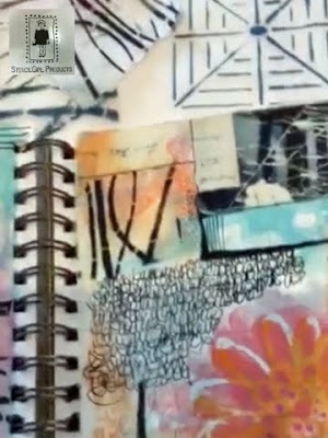 July2016 StencilClub - Art Journaling - Mary Beth Shaw
