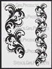 Borders Damask Stencil by Michelle Ward