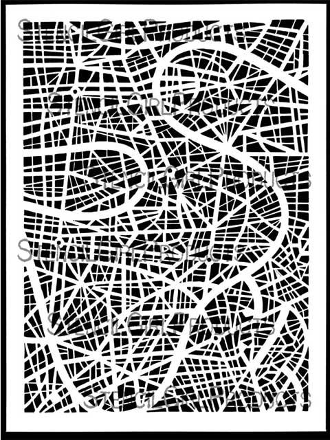map stencil