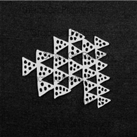 Clustered Triangles Stencil by Rae Missigman