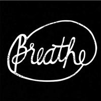 Breathe Stencil by Maria McGuire