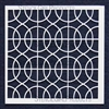Curvy Lattice Stencil 6 by Mary Beth Shaw