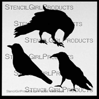three crows stencil kimberly packwood