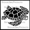 Sea Turtle Small Stencil by June Pfaff Daley