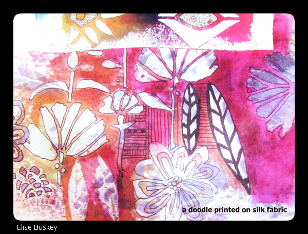 Nov2016 Stencil Club - Art Journaling 2 - Elise Buskey
