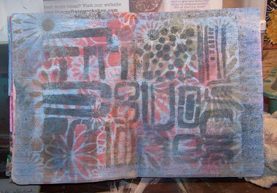 Aug2013 StencilClub - Art Journal - Laura Shelton Thykeson