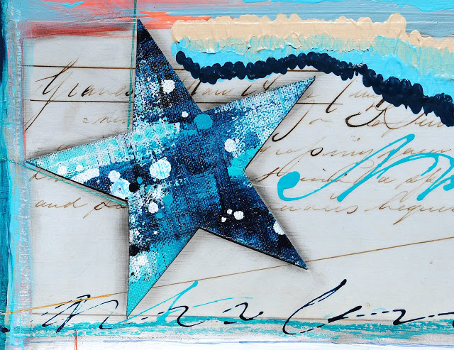 August 2017 StencilClub - Art Journaling 3 - Mary Nasser