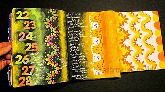 Sept. 2014 SencilClub - Art Journal 1 - Andrew Borloz