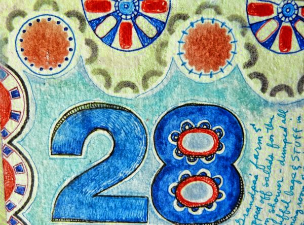 Sept. 2014 StencilClub - Art Journal 3 - Janet Joehlin