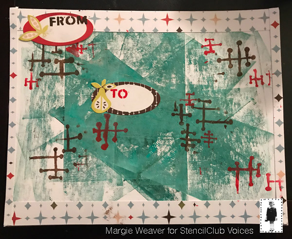 Aug2018 StencilClub - Art Journaling - Margie Murphy