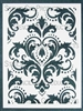 Damask Stencil by Michelle Ward