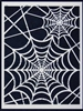 Spider Web Stencil by June Pfaff Daley