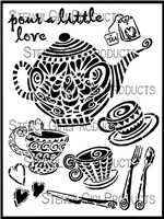 Teacups and Teapots by Jessica Sporn