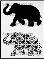 Elephant Parade Stencil by Nathalie Kalbach