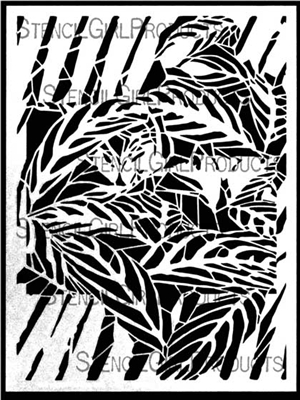 It's a Jungle Out There Stencil by Cecilia Swatton