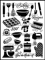 Baking Stencil by June Pfaff Daley