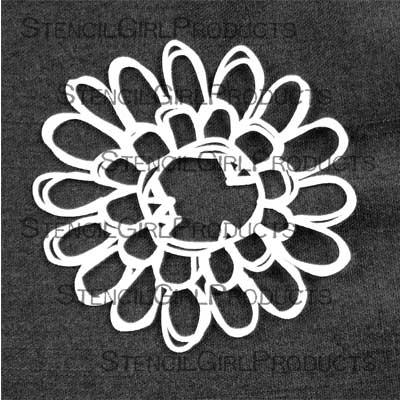 Nonsensical Bloom Stencil by Rae Missigman