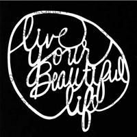Live Your Beautiful Life Stencil by Maria McGuire