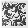Damask Small Stencil by Michelle Ward