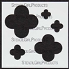 Quatrefoil Set Stencil by Michelle Ward