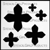 Maltese Set Stencil by Michelle Ward