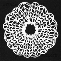 Chevron Doily by Maria McGuire