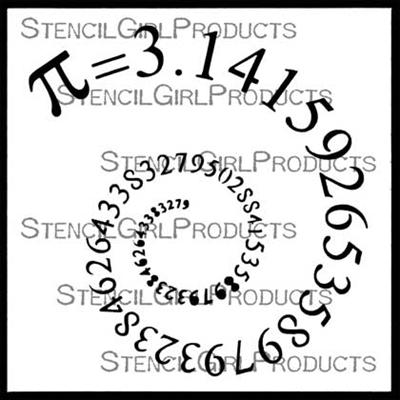 StencilGirl - Pi